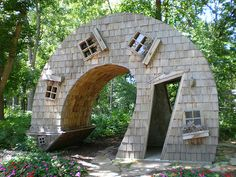 This is the best website for playhouse designs! It makes me feel like I'm in Seuss's Whoville! I love it!