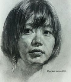 임시 이미지 Portrait Sketches, Pencil Portrait, Portrait Art, Life Drawing, Figure Drawing, Painting & Drawing, Charcoal Portraits, Charcoal Art, Pencil Art Drawings
