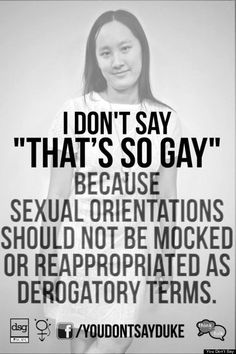 Duke's 'You Don't Say' Campaign Reminds You Which Words Shouldn't Be Used As Slang