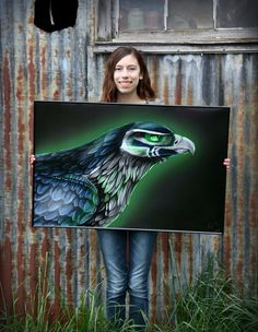Image of Seahawk Poster