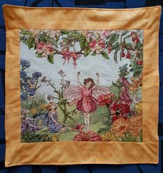 Fairy Masterpiece DMC counted cross-stitch Cecily Mary Barker