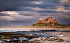 Bamburgh Castle...stormy weather by Shaun Walby on 500px