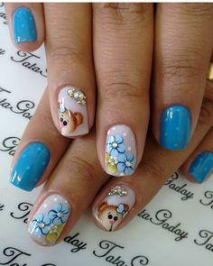 Cute Nail Art, Nail Art Diy, Easy Nail Art, Diy Nails, Cute Nails, Orange Nail Designs, Cute Nail Designs, Nail Swag, Flower Nails
