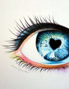 How To Draw An EYE – 40 Amazing Tutorials And Exa