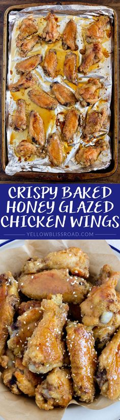 Crispy Baked Honey G