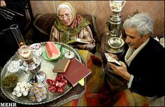 How Iranians celebrate the winter solstice <3