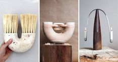 Ariele Alasko Makes These Creative Wood Sculptures And Home Decor Items Sculptor and woodworker Ariele Alasko has created an impressive collection of modern wood abstract sculptures and home decor items nbsp hellip