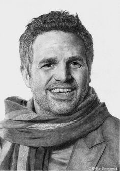 Mark Ruffalo by Pampefox  | First pinned to Celebrity Art board here... http://www.pinterest.com/fairbanksgrafix/celebrity-art/ #Drawing #Art #CelebrityArt.