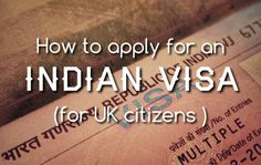 Nearly all visitors need to apply for a visa before traveling to India (apart from citizens of Nepal, Maldives and Bhutan) Sadly the process can be tedious and over the recent months new developme...
