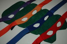 diy ninja turtle mask - Yahoo Image Search Results