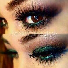 Smokey brown/green