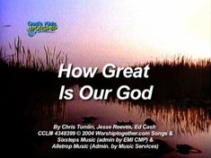 A kid-friendly, singable version of the popular worship song popularized by Chris Tomlin. All kids voices, singing in a key that works for kids, at a tempo and length that will keep kids attention. Includes stereo and split-track versions.
