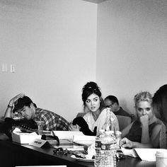 Pretty Little liar cast .. Ian Harding , Lucy Hale , Ashley Benson