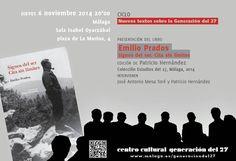 Publicidad Generación del 27. Emilio Prados.