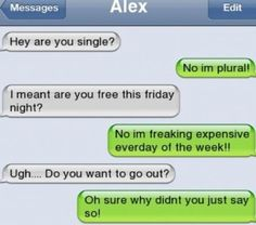 Of The Most Funny Text Message Conversations These Hilarious text messages are going to make you laugh out loud. Of The Most Funny Text Message Conversations These Hilarious text messages are going to make you laugh out loud. Funny Texts Jokes, Text Jokes, Funny Text Fails, Cute Texts, Funny Relatable Memes, Humor Texts, Epic Texts, Text Pranks, Funny Texts To Parents