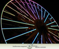 "Photo of the Day - January 24, 2012: ""Ferris Wheel at night."" Taken by Monica Ortiz (Sun City, CA). Photographed September 2009, Anaheim, CA."