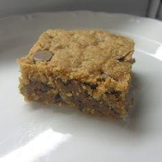 Gabrielle Meyer: Oatmeal Chocolate Chip Bars