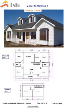 House Architecture Styles, House Floor Plans, Shed, Outdoor Structures, Flooring, Chile, Dan, Houses, Home Decor