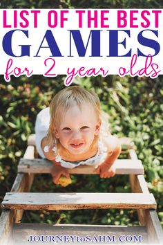 When my daughter turned 2, I was so excited we would finally be able to play some toddler games at home together. My husband and I love board game nights, so I was thrilled to get my daughter involved. Turns out most toddler games are geared for ages 3 and up. Not what I wanted to see. I was determined to find games she could play and not wait another whole year. | @journeytoSAHM #bestgamesfortoddlers #parentingtoddlers #toddlergifts #toddlergames Educational Activities For Toddlers, Preschool Activities At Home, Activities For 2 Year Olds, Games For Toddlers, Parenting Toddlers, Summer Activities For Kids, Infant Activities, Toddler Preschool, Parenting Tips