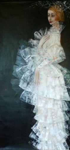 Ludmila Curilova [born in 1950's in Kishenev, Moldova, USSR (now it's Chisinau, Maldova); based in Canada]