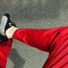 #red #fashion #pants #cool #nice #photo #photography #awesome #awesome #amazing