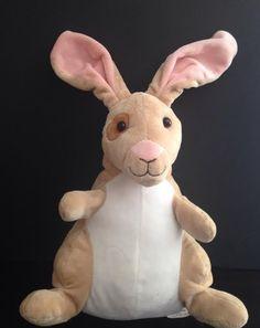 """Kohl's Cares for Kids VELVETEEN RABBIT Tan Pink Plush Bunny 12"""" Easter  #KohlsCares"""