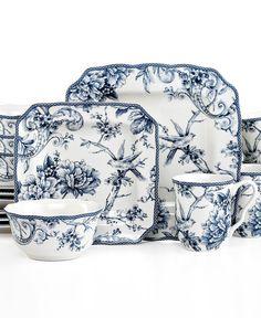Cuisinart Fleurie 16-pc. Dinnerware Set | Things I Want | Pinterest ...
