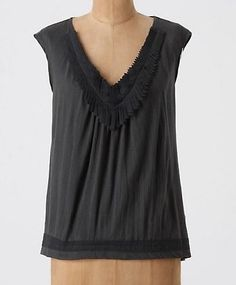 Anthropologie by C. Keer Mane Event Tank Blouse