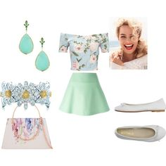 spring 1 by katie-lutz on Polyvore featuring Miss Selfridge, RED Valentino, DIENNEG, Ted Baker, Ila and Vanity Fair