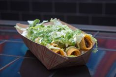 "Secret Menu Item #2: ""CHRONIC STYLE"" TAQUITOS Taquitoria Taquitoria on Ludlow St serves up their made-to-order taquitos two different ways - classic or cheesy...unless you know to order them ""Chronic Style."" The secret style will have your cigar-sized wonders smothered in nacho cotija cheeses, sour cream, pickled jalapeno relish, guac sauce, and shredded lettuce."
