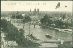 Paris 1905 - Panorama de la Seine vers la Cité | Flickr - Photo Sharing!