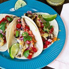 Margarita-Glazed Fish Tacos