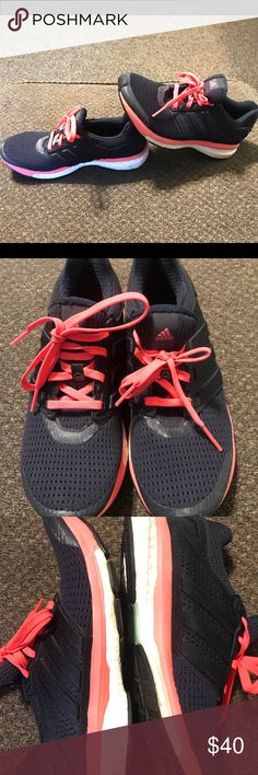 hot sale online 96be5 d8dd1 Adidas Supernovas Boost technology shoes. Gently worn. Some wear on the  boost area.