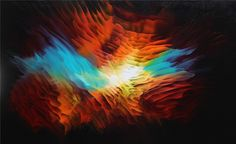 Waves of Color by Tara Baden Paint Colors, Wall Art, Painting, Bathing, Paint Colours, Painting Art, Paintings, Colored Pencils, Painted Canvas