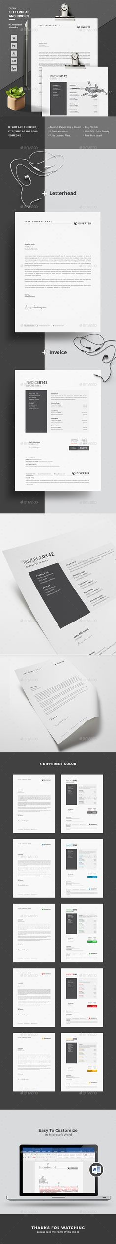 Letterhead Template PSD, Vector EPS, AI, MS Word Letterhead - letterhead samples word