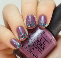 HB Beauty Bar Glitter Gradient - The Nail Polish Challenge