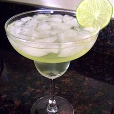 How to make a margarita pitcher (8 servings): 2 cups tequila, 1 cup triple sec, 1 1/2 c. lime juice, kosher salt, and ice.