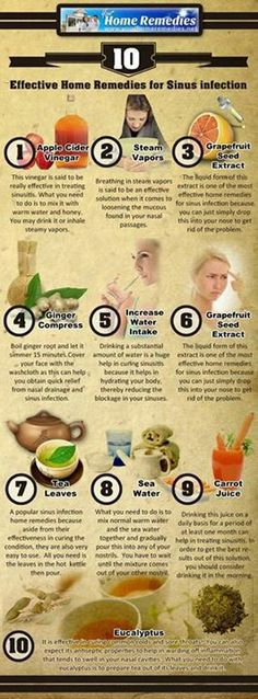 Natural remedies for a sinus infection