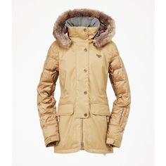 Roxy Torah Bright Bluff 10K Insulated Jacket ($300) ❤ liked on Polyvore