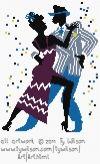 Rumba Deze serie van Ty Wilson, helemaal leuk! 100x165