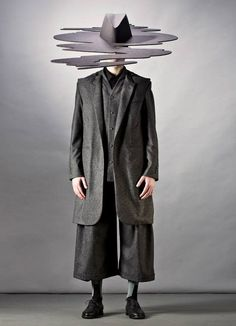 Mareunrol's Fieldwork No.2 Collection is Inspired by Nature #avantgarde #winter trendhunter.com