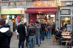 frieten van reitz, maastricht, mmm ik ben Belgische maar da zen goei frieten