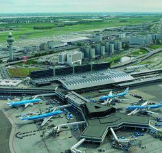 Schipol airport.