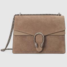 #Gucci Dionysus suede shoulder bag
