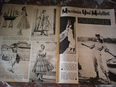 Vintage MAGAZINE 1957 Turkish POPULAR CULTURE