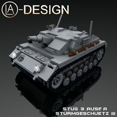 LEGO Custom Stug 3 III German WW2 Panzer Tank 0 | Flickr - Photo Sharing!