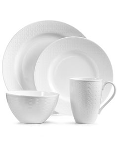 Lenox Ridge Street Collection - Dinnerware - Dining & Entertaining - Macy's Bridal and Wedding Registry
