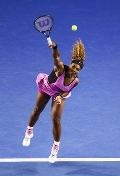 Serena Williams #tennis #tenis #AustralianOpen @JugamosTenis