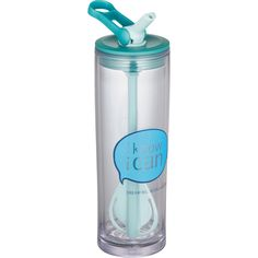 Aladdin® Mix-It Cold Tumbler 20oz Mix it up. Cold to go. Take your favorite drink for a spin. This double-wall insulated bottle is leak proof, sweat proof, and the ultimate multi-tasker—combining mixing, carrying, and sipping in one clever little flip handle. Flip down to mix, up to carry, or back to sip from the built-in straw. Spin, sip and carry lid. Mix-it paddle straw. Whip up your favorite instant drink. Leak proof. Keep liquid where it belongs. BPA Free. 20oz.