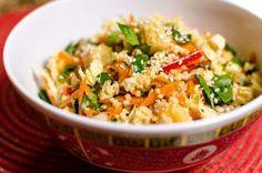 Ricette insalata di cereali - Insalata di miglio e verdure